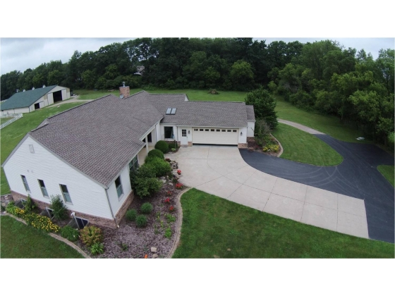 A Beautiful 21.27 Acre Horse Property With A 5100 Square Ft Move-In Condition Home!