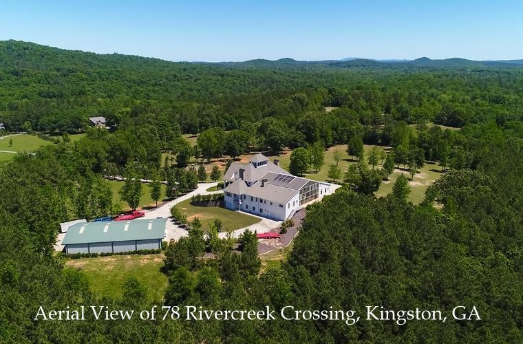 Custom Estate Home on 28.5 Acres With Shop/Stable Bldg