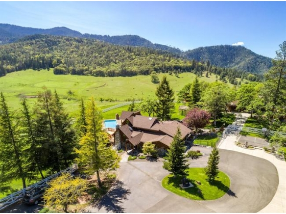 ***SOLD*** Rusty Spur Equestrian Estate in Talent, Oregon is for Sale