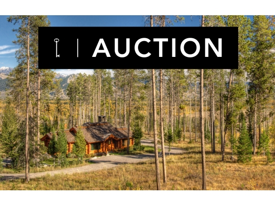 5925 West Lazy H Road // Jackson Hole, WY // SOLD AT AUCTION