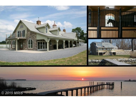 Avel Farm - Equestrian Waterfront Residential Retreat on the Chesapeake Bay